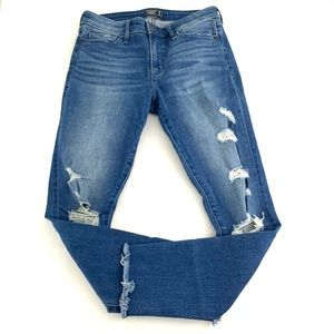 Abercrombie & Fitch Harper Low Rise Ankle Jeans